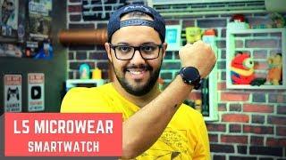 L5 SmartWear - O smartwatch a prova dágua baratinho. Review / Tutorial