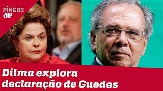 Dilma diz que Guedes é Cavaleiro do Apocalipse