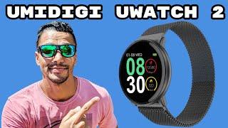 UMIDIGI UWATCH 2 - O SMARTWATCH BOM, BONITO E BARATO - UNBOXING E REVIEW COMPLETOS