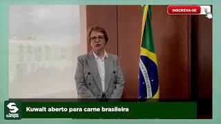 Kuwait abre mercado para carne bovina brasileira