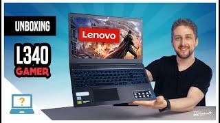Unboxing Notebook Lenovo IdeaPad L340 Gamer 2020 com Intel 9ª geração série H | GTX 1050 e tela IPS